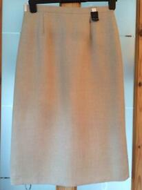Size 12 Bnwt Women's Clothing Skirts Black Pinstripe Skirt