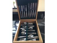 Stainless Steel Cutlery Set 56 pieces