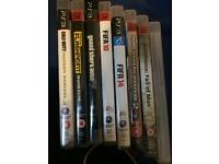 PS3, 120gb. 8 games, offers or swaps