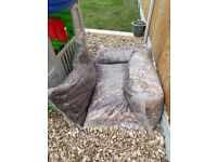 4 Large bags of wood chips/ children's play bark. Ideal for outdoor play area