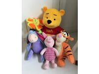 Beautiful Winnie the Pooh and friends for nursery/ baby