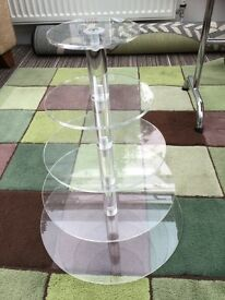 Five tier cupcake stand