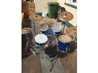Mapex QR series Drum kit for sale with extras!!
