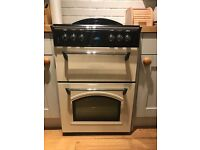 Cream Leisure 60cm Electric Double Oven - one year old