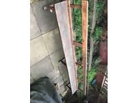 Garden/house church pew style bench