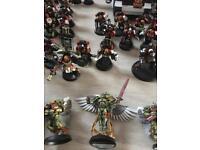 Space marine warhammer blood angels army