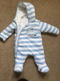 Mini club 0-3 months snow suit