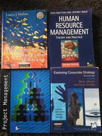 Business studies degree text books