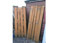 Quality Wooden Garden Gate Treated Timber Fencing good condition