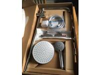 Thermostatic shower valve kit