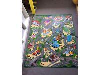 Large car playmat excellent condition