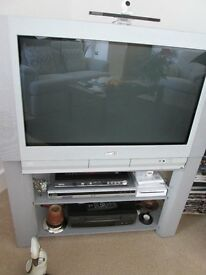 Sanyo TV and stand