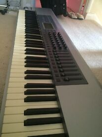 M-Audio ProKeys 88. Weighted keys, professional MIDI keyboard. Excellent condition.
