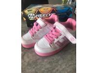 Girls Heelys - size 1