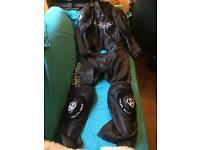 Arlen Ness 2 piece Motorbike leathers