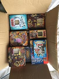Old yu-gi-oh! And WoW tcg cards, sleeves and binders