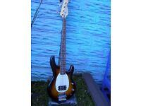 Musicman Stingray bass replica by Crafter