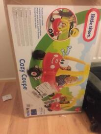 BRAND NEW Little Tikes Cozy Coupe Push-along Car