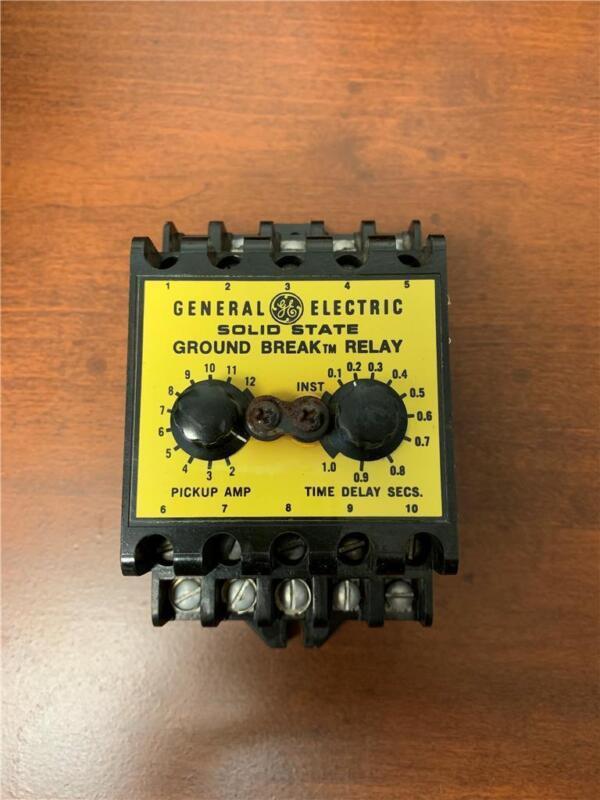 GENERAL ELECTRIC TGMR1 CLASS 1 GROUND-BREAK RELAY