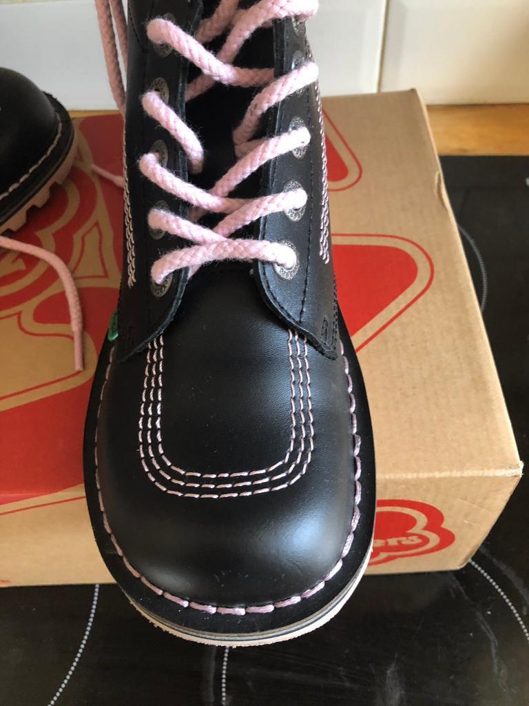 65ce745b9 Ladies black kickers size 5.5 | in Marple, Manchester | Gumtree
