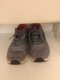 Kid's Nike Air Max Trainers Size 12. Grey, Orange and Black.