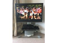 "Toshiba LCD 37"" TV, DVD Player & BT YouView Box Combo with Stand"