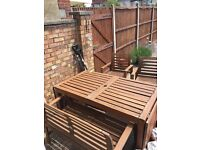 Ikea garden patio table and chairs