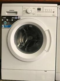 Siemens washing machine latest model hardly use family size 8kg German made for sale