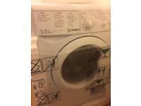Indesit IWDC6125 6kg/5kg 1200rpm White Freestanding Washer Dryer IWDC6125
