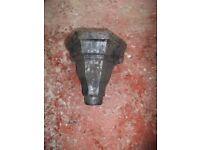 cast iron / alloy guttering hoppers