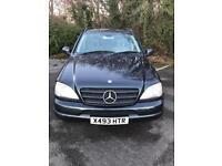 Mercedes ml430 LPG new m.o.t