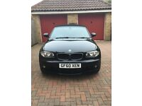 Beautiful example of BMW 1 Series Convertible with Red Leather uphostery and low mileage