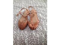 Zara brand new ladies sandals size 6