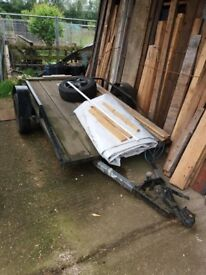 Flatbed trailer for sale £300 1420mm width x 2730mm length Woburn Sands