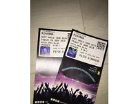 2 Rihanna Tickets Wembley Friday 24th June Standing 90 pound each