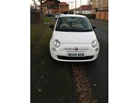 White Fiat 500 Pop 1.2 FOR SALE