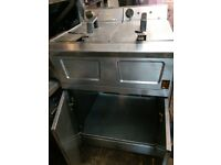 FALCON Pro-Lite Free Standing Double Fryer LD48