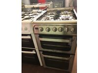 50CM STAINLESS STEEL HOTPOINT GAS COOKER