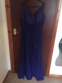 Blue dress by Emily fox