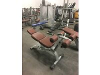 TECHNOGYM SELECTION ADJUSTABLE ABB CRUNCH BENCH FORSALE!!