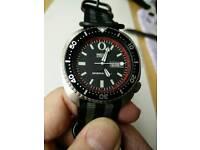 Seiko vintage automatic 'turtle' watch