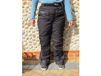 Weise Women Motor Cycling Insulated Waterproof Winter Trousers Size XS UK 8/10