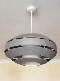 Grey Lamp Shade