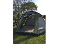 Five man tent sewn in groundsheet used three weekends great condition