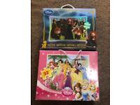 2 x Disney Puzzles