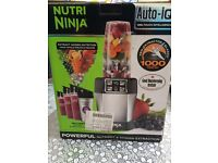 Nutri Ninja Personal Blender with Auto-iQ 1000W – BL480UK – Silver