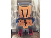 Topeak rear bicycle seat for toddler