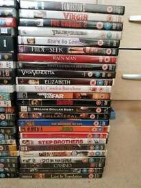 Job lot of 350 dvds