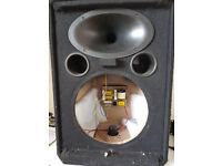Wharfedale Pro EVP-X 12 spares, unloaded, no bass speaker