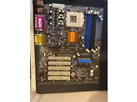 UNTESTED ECS K7S5A ATX motherboard Socket A SiS735 motherboard